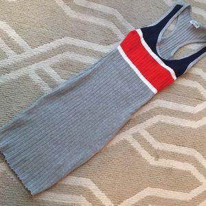 Dresses & Skirts - Grey Body Con Midi Dress